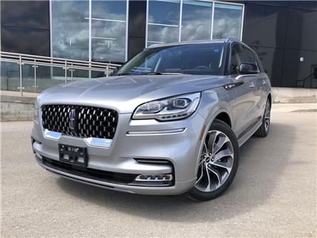 2021 Lincoln Aviator Grand Touring (Stk: LA21436) in Barrie - Image 1 of 28