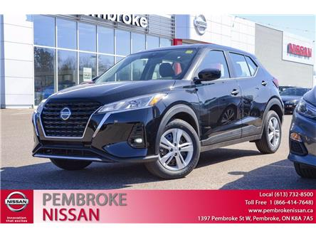 2021 Nissan Kicks S (Stk: 21110) in Pembroke - Image 1 of 28