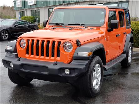 2019 Jeep Wrangler Unlimited Sport (Stk: 11072) in Lower Sackville - Image 1 of 23