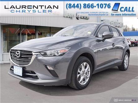2019 Mazda CX-3 GS (Stk: 21023A) in Greater Sudbury - Image 1 of 25