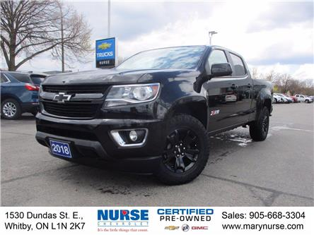 2018 Chevrolet Colorado Z71 (Stk: 10X517) in Whitby - Image 1 of 27