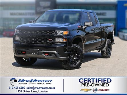 2019 Chevrolet Silverado 1500 Silverado Custom Trail Boss (Stk: 210541A) in London - Image 1 of 10