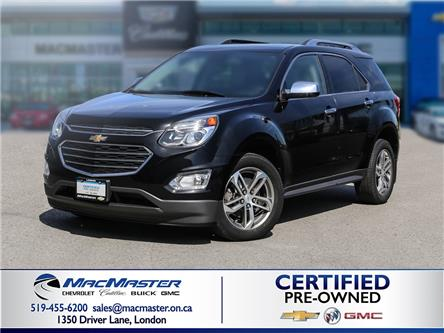 2017 Chevrolet Equinox Premier (Stk: 215074A) in London - Image 1 of 10