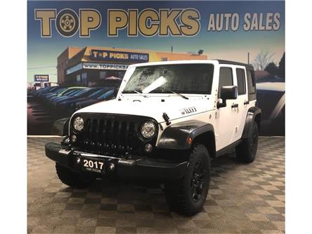 2017 Jeep Wrangler Unlimited Sport (Stk: 744675) in NORTH BAY - Image 1 of 23