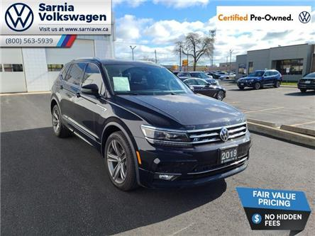 2019 Volkswagen Tiguan Highline (Stk: VU1127) in Sarnia - Image 1 of 15