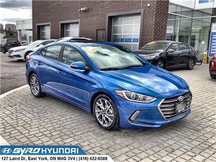2018 Hyundai Elantra GLS (Stk: H3941) in Toronto - Image 1 of 30