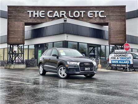 2017 Audi Q3 2.0T Komfort (Stk: 21192) in Sudbury - Image 1 of 23