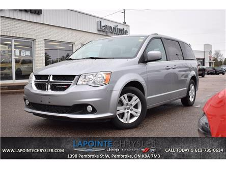 2019 Dodge Grand Caravan Crew (Stk: P3690) in Pembroke - Image 1 of 30