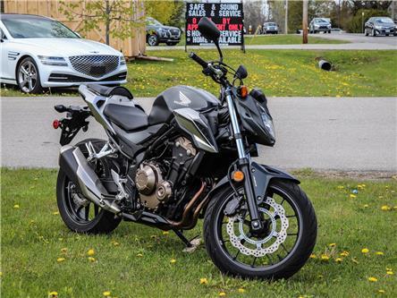 2016 Honda CB500F (CANADA)  (Stk: R21262B) in Brockville - Image 1 of 11
