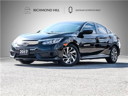 2017 Honda Civic EX (Stk: 21-323A) in Richmond Hill - Image 1 of 24