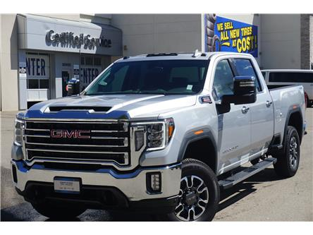 2021 GMC Sierra 3500HD SLT (Stk: P3693) in Salmon Arm - Image 1 of 14