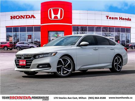 2018 Honda Accord Sport (Stk: 3848) in Milton - Image 1 of 27