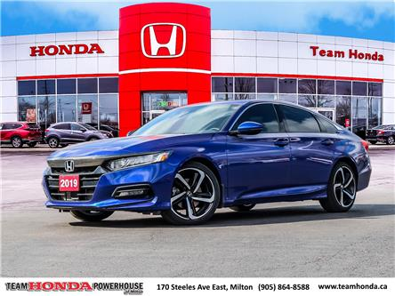 2019 Honda Accord Sport 1.5T (Stk: 3857) in Milton - Image 1 of 28