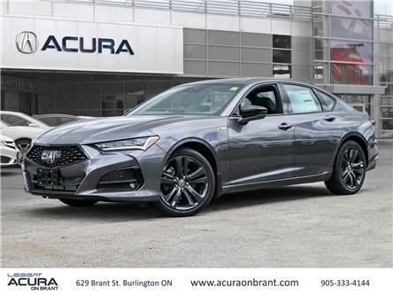 2021 Acura TLX A-Spec (Stk: 21085) in Burlington - Image 1 of 30