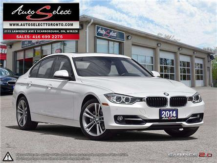 2014 BMW 328i xDrive (Stk: 1XST1M21) in Scarborough - Image 1 of 28