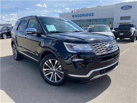 2019 Ford Explorer Platinum (Stk: M-498A) in Calgary - Image 1 of 24