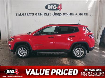 2020 Jeep Compass Sport (Stk: L450) in Calgary - Image 1 of 12