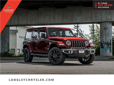 2021 Jeep Wrangler Unlimited 4xe Sahara (Stk: M652363) in Surrey - Image 1 of 30