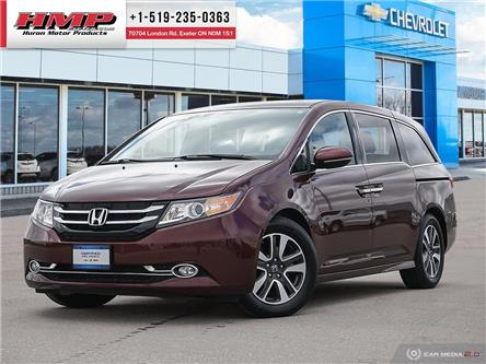2016 Honda Odyssey Touring (Stk: 90479) in Exeter - Image 1 of 27