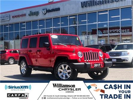 2017 Jeep Wrangler Unlimited Sahara (Stk: W6723) in Uxbridge - Image 1 of 21