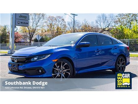 2019 Honda Civic Sport (Stk: 2103311) in OTTAWA - Image 1 of 22