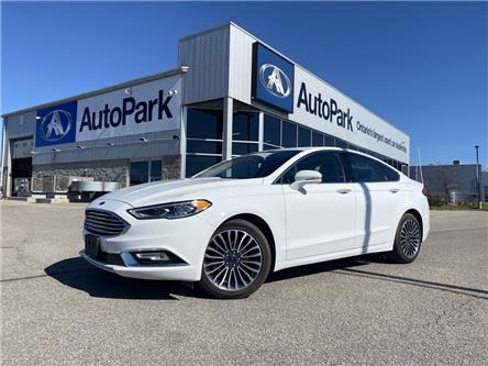 2017 Ford Fusion SE (Stk: 17-27206RJB) in Barrie - Image 1 of 28