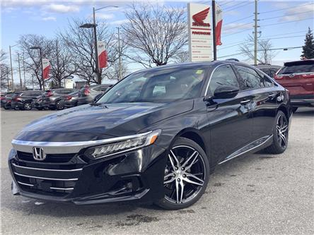 2021 Honda Accord Touring 2.0T (Stk: 11-21610) in Barrie - Image 1 of 29