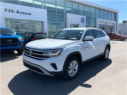 2021 Volkswagen Atlas Cross Sport 2.0 TSI Trendline (Stk: 21200) in Calgary - Image 1 of 15