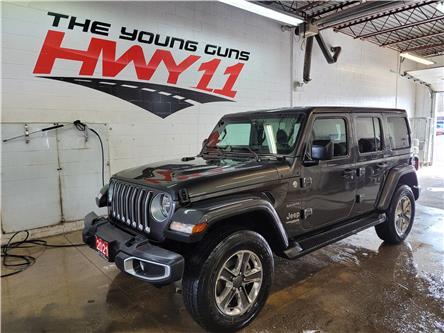 2021 Jeep Wrangler Unlimited Sahara (Stk: 517831) in Orillia - Image 1 of 24