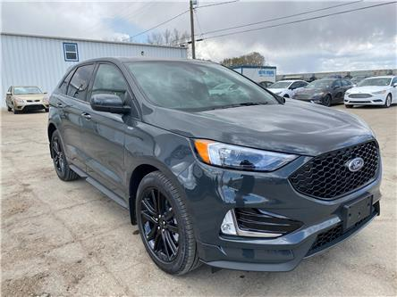 2021 Ford Edge ST Line (Stk: 21186) in Wilkie - Image 1 of 22