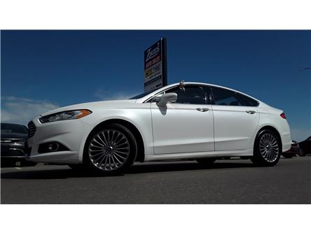 2013 Ford Fusion Titanium (Stk: P812) in Brandon - Image 1 of 28