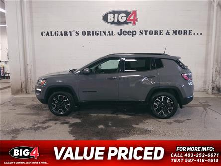 2021 Jeep Compass Sport (Stk: L460) in Calgary - Image 1 of 11