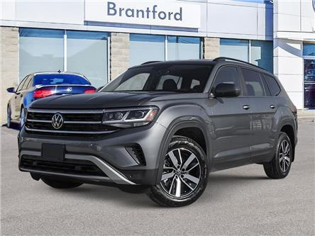 2021 Volkswagen Atlas 3.6 FSI Comfortline (Stk: AT21448) in Brantford - Image 1 of 23