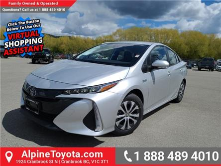 2021 Toyota Prius Prime Base (Stk: 3186712) in Cranbrook - Image 1 of 24