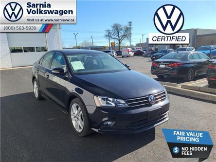 2017 Volkswagen Jetta 1.8 TSI Highline (Stk: VU1120) in Sarnia - Image 1 of 23