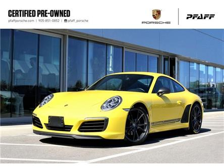 2018 Porsche 911 Carrera T Coupe (Stk: P14786A) in Vaughan - Image 1 of 30