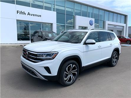 2021 Volkswagen Atlas 3.6 FSI Execline (Stk: 21035) in Calgary - Image 1 of 20