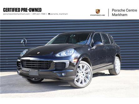 2018 Porsche Cayenne Platinum Edition (Stk: PU0075) in Markham - Image 1 of 20