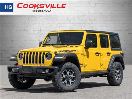 2021 Jeep Wrangler Unlimited Rubicon (Stk: MW633468) in Mississauga - Image 1 of 22