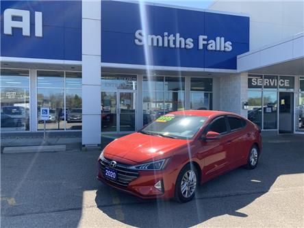 2020 Hyundai Elantra Preferred (Stk: 103641) in Smiths Falls - Image 1 of 9