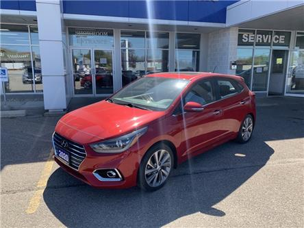 2020 Hyundai Accent Ultimate (Stk: P32451) in Smiths Falls - Image 1 of 8