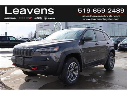 2021 Jeep Cherokee Trailhawk (Stk: LC21166) in London - Image 1 of 31