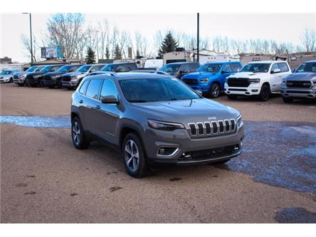 2021 Jeep Cherokee Limited (Stk: 5M021) in Medicine Hat - Image 1 of 19