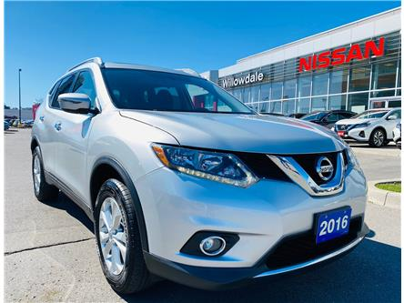 2016 Nissan Rogue SV (Stk: N1649A) in Thornhill - Image 1 of 22