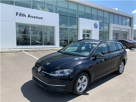 2019 Volkswagen Golf SportWagen 1.8 TSI Comfortline (Stk: 3666) in Calgary - Image 1 of 16