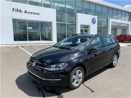 2019 Volkswagen Golf SportWagen 1.8 TSI Comfortline (Stk: 3665) in Calgary - Image 1 of 15