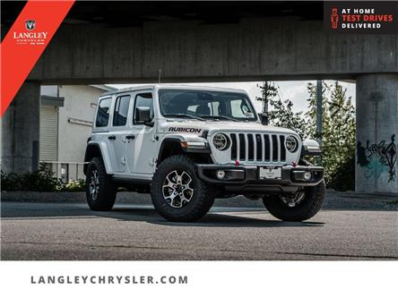 2021 Jeep Wrangler Unlimited Rubicon (Stk: M714883) in Surrey - Image 1 of 28