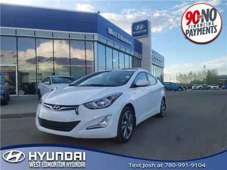 2016 Hyundai Elantra GLS (Stk: E5643) in Edmonton - Image 1 of 23