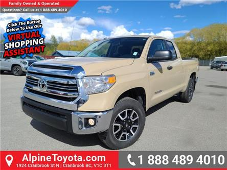 2017 Toyota Tundra  (Stk: X639247) in Cranbrook - Image 1 of 24
