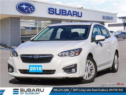 2018 Subaru Impreza Touring (Stk: S21166A) in Sudbury - Image 1 of 18